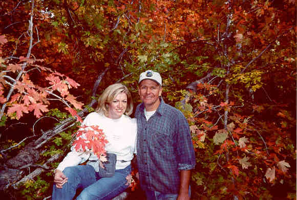 Steve & Jeri Kay - Enjoying the mountain air